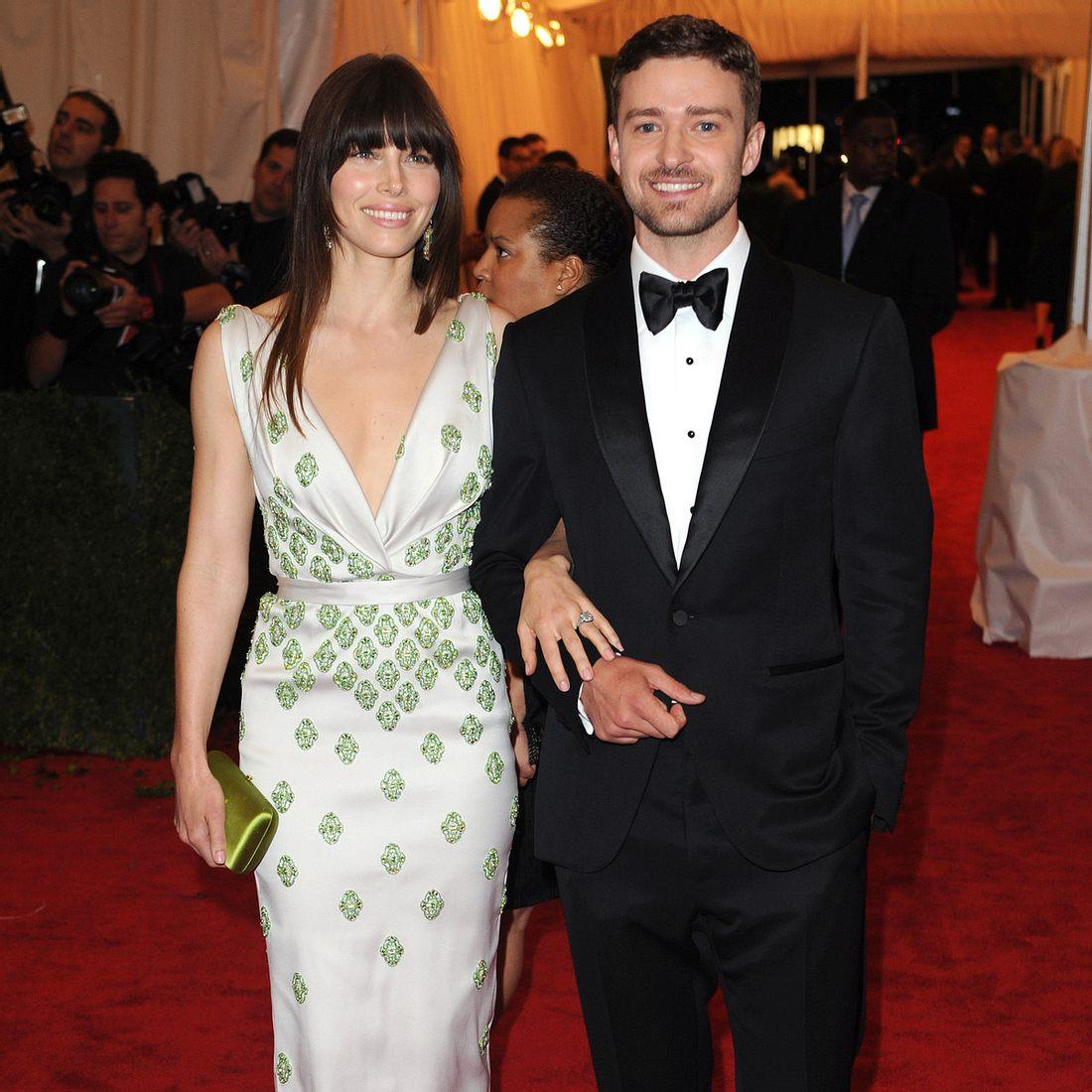 Jessica Biel und Justin Timberlake sind Mann und Frau.
