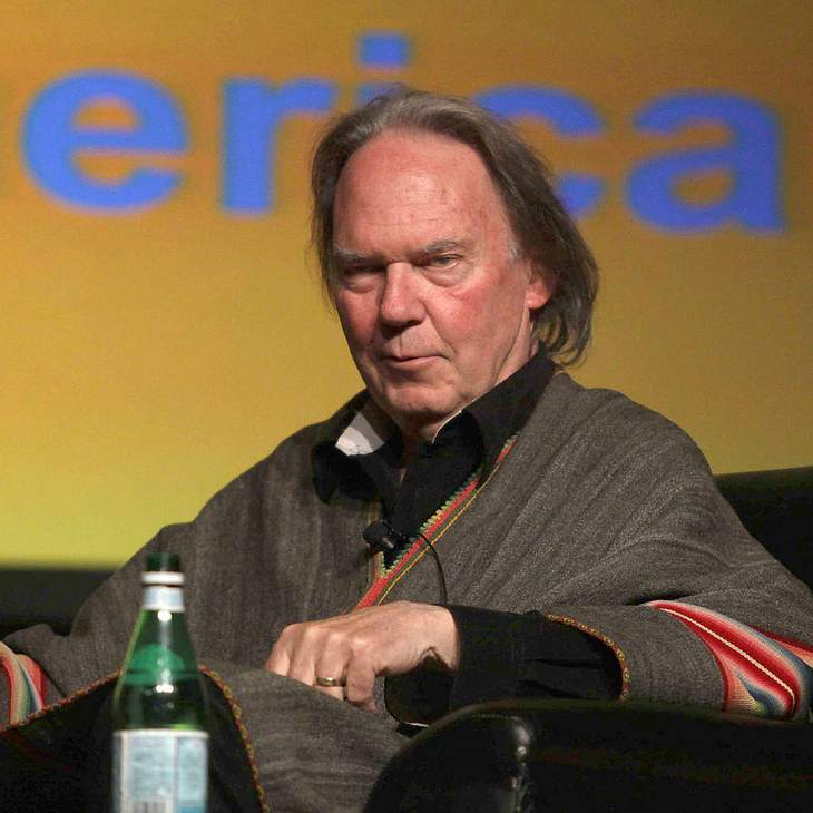 Neil Young schreibt für die Umwelt