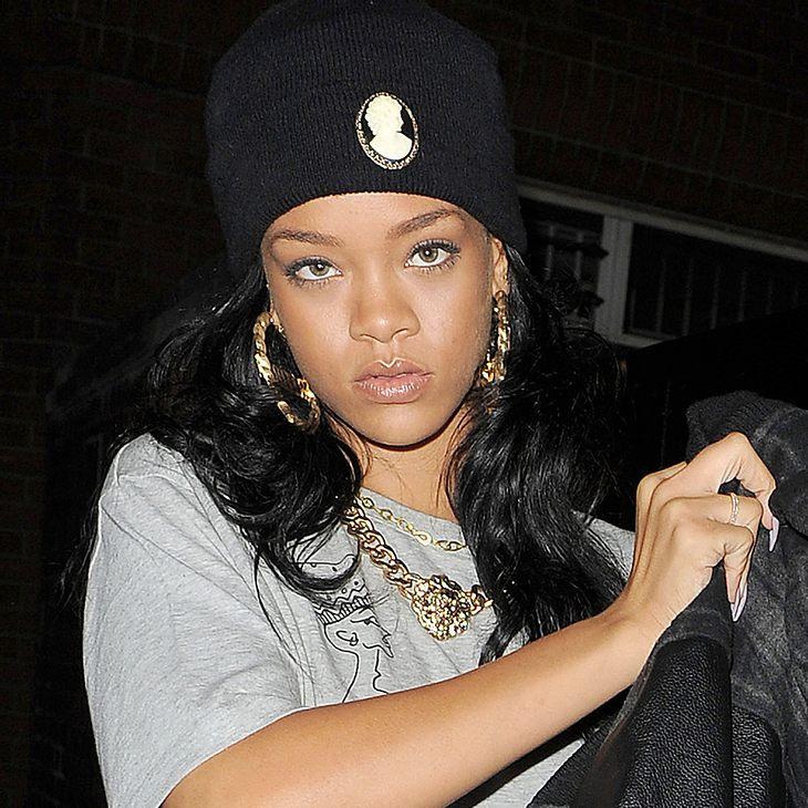 Rihanna musste evakuiert werden