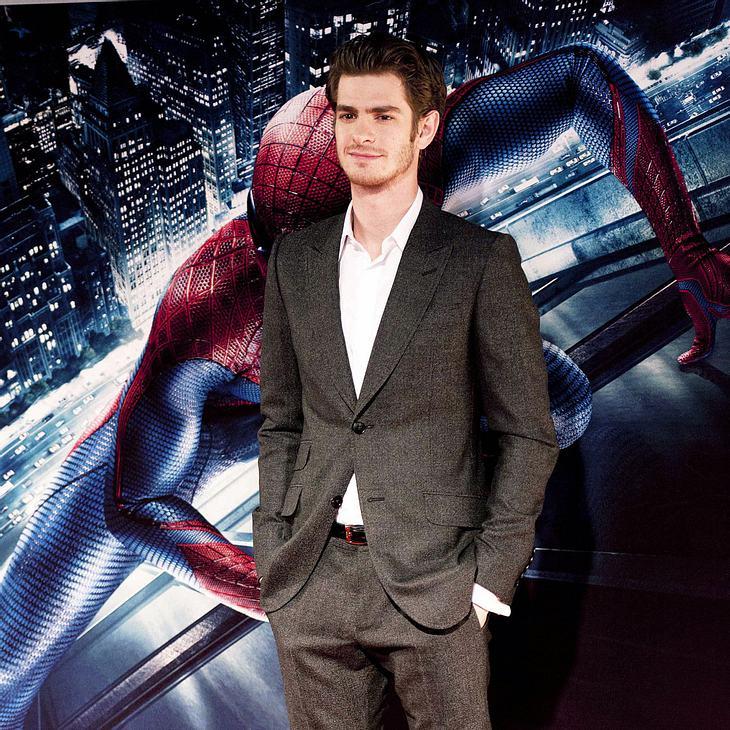 """Andrew Garfield fast im """"Spider-Man""""-Kostüm erstickt"""