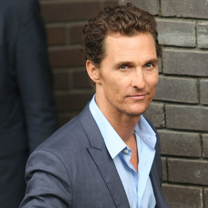 Matthew McConaughey muss 15 Kilo abspecken