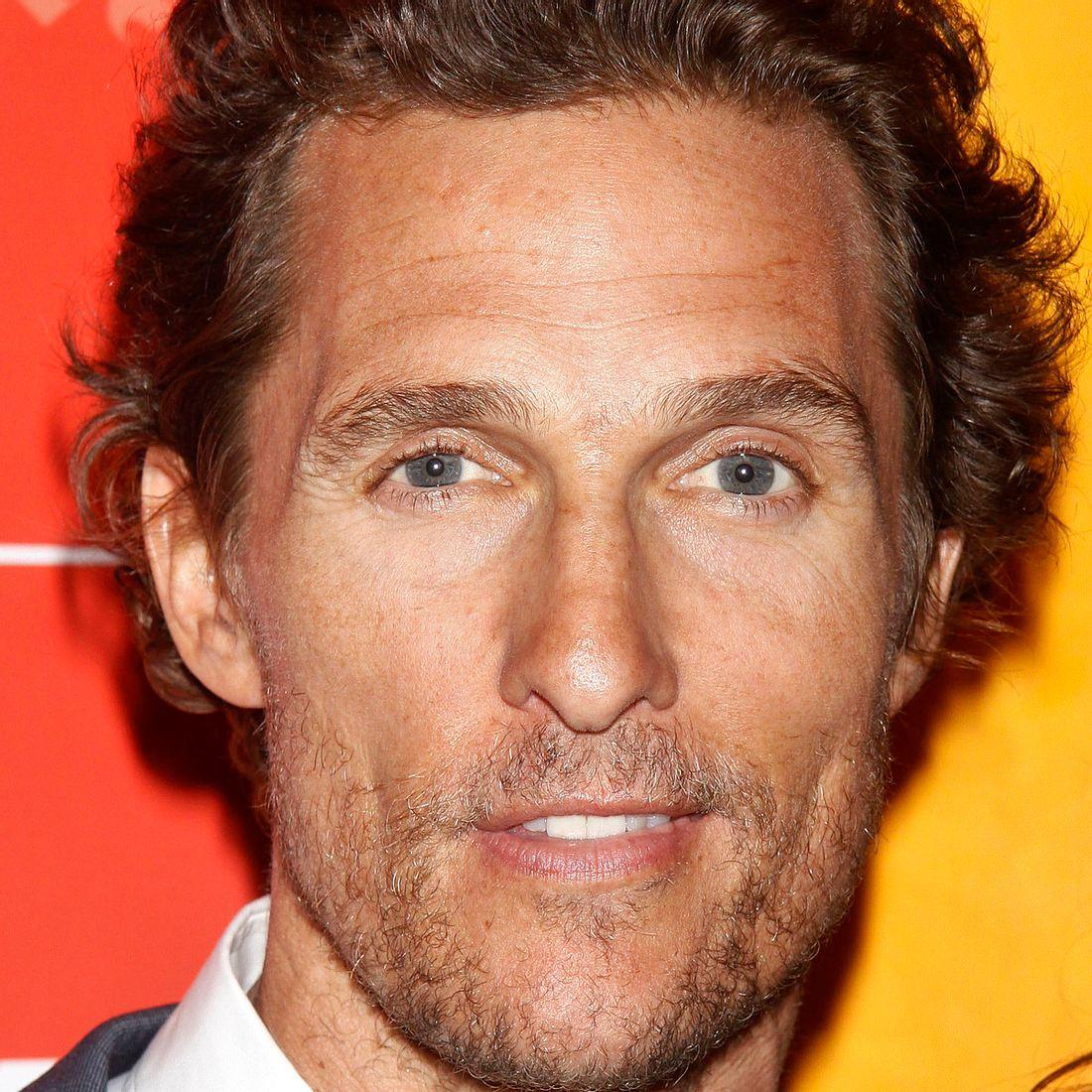 Matthew McConaughey liebt alle Frauen