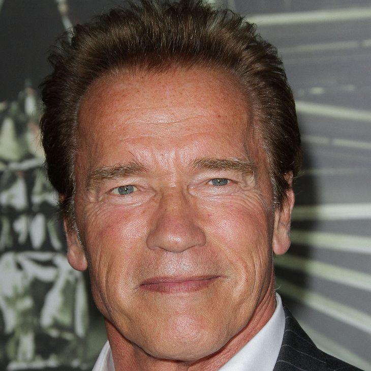 Arnold Schwarzenegger steht Sylvester Stallone bei