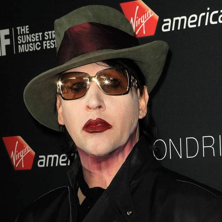 Marilyn Manson: Zusammenbruch!