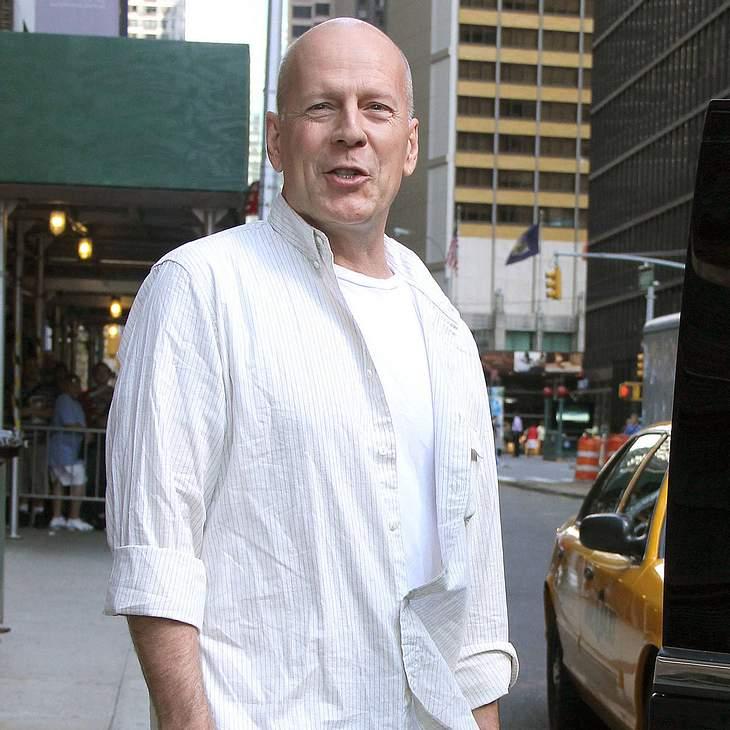 Bruce Willis mit Wandgemälde geehrt