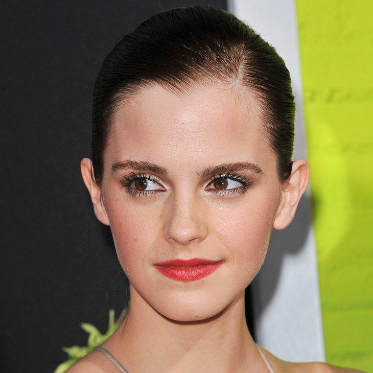 Emma Watson will ihre Filmküsse nicht sehen
