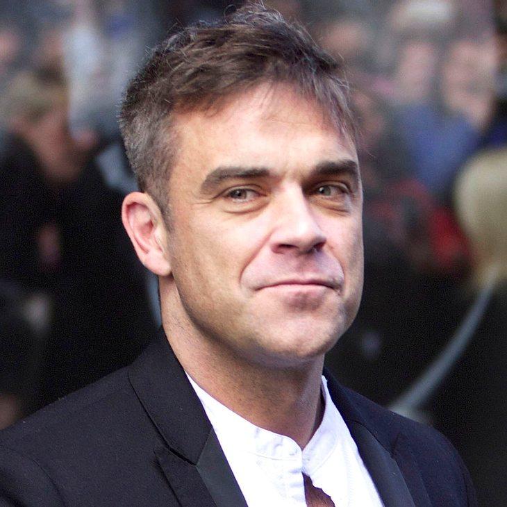 """Robbie Williams: """"Teddy ist ein ruhiges Baby"""""""