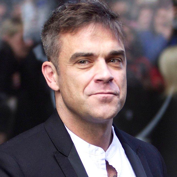 Robbie Williams: Schreckensminuten während Teddys Geburt