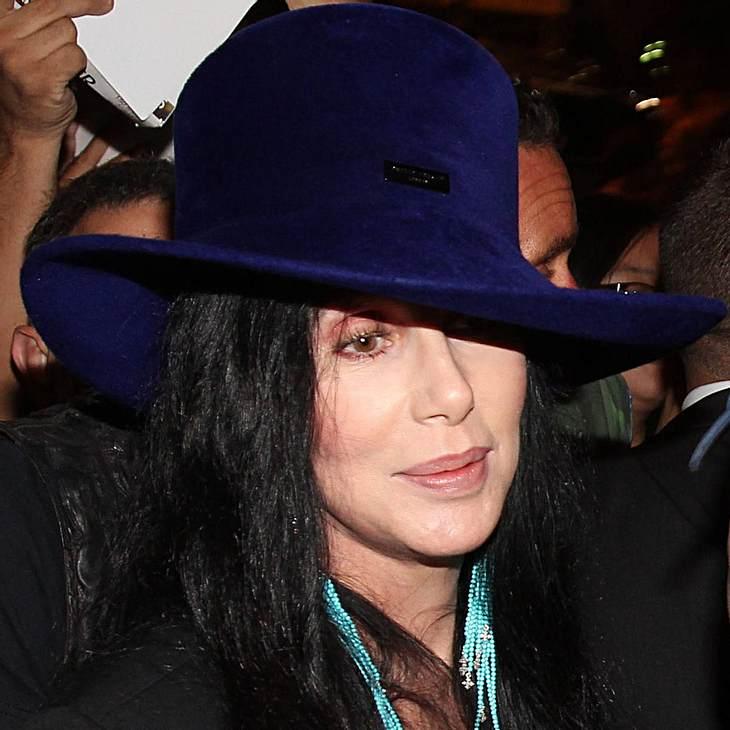 Cher hat sich in Moderator verguckt