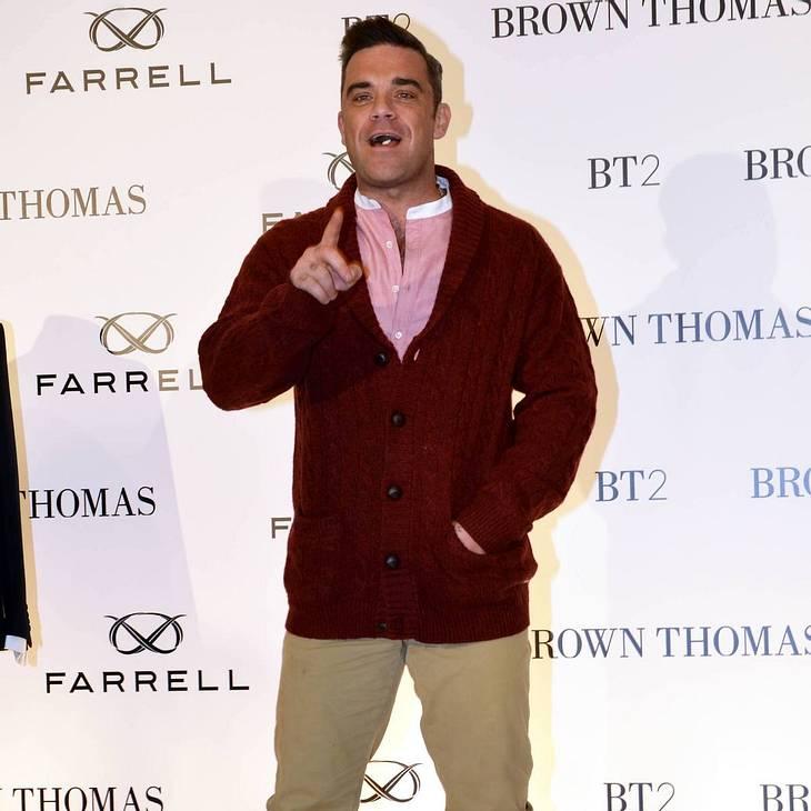 Robbie Williams erklärt Baby-Name