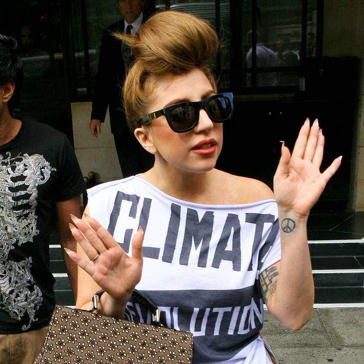 Lady Gaga tritt mit Rolling Stones auf
