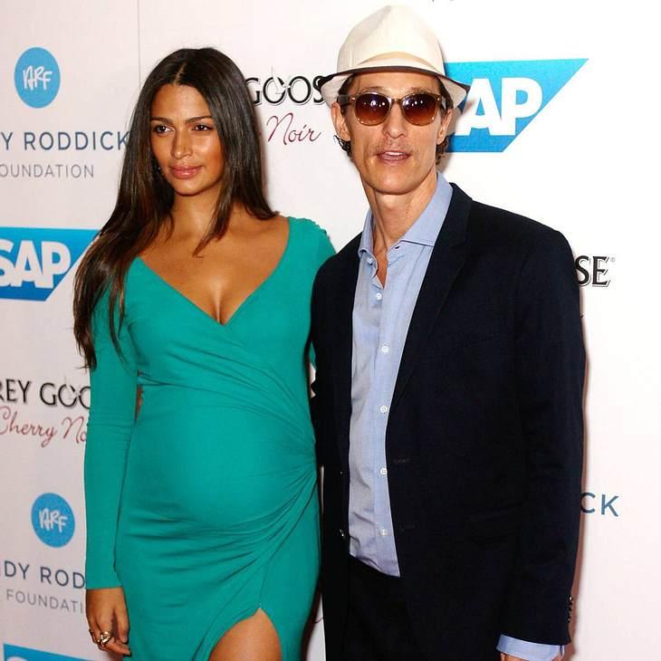 Matthew McConaughey ist erneut Vater geworden