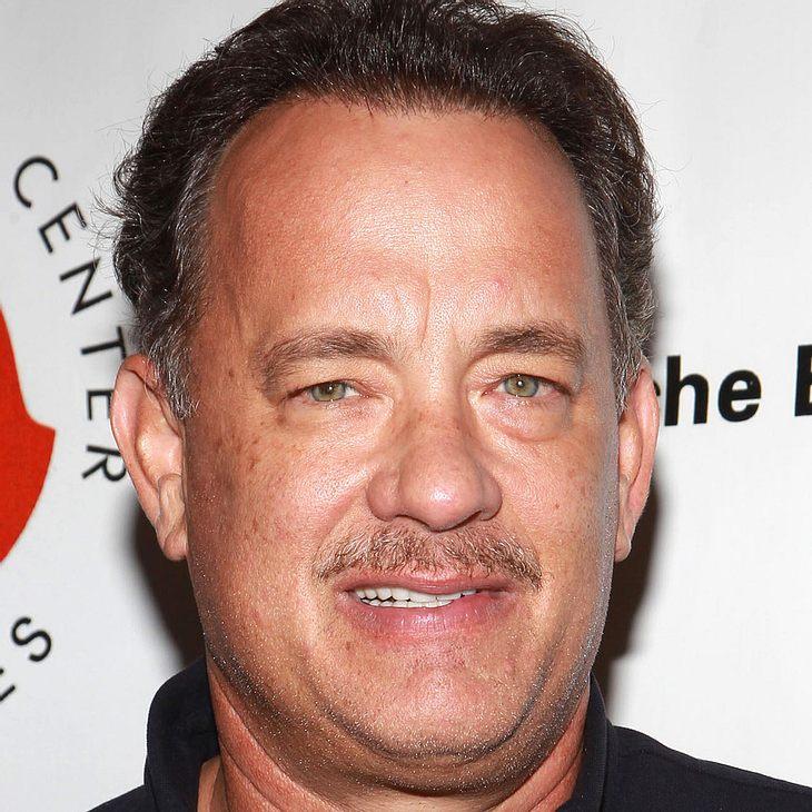 Tom Hanks flucht im TV