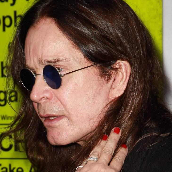 Ozzy Osbourne: Verletzung bei Hausbrand