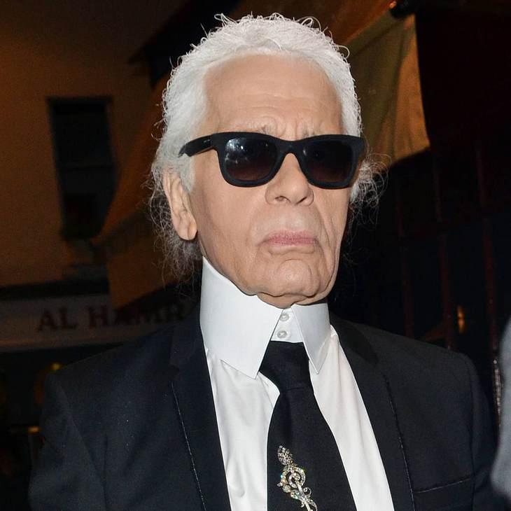 Karl Lagerfeld hat noch nie gewählt