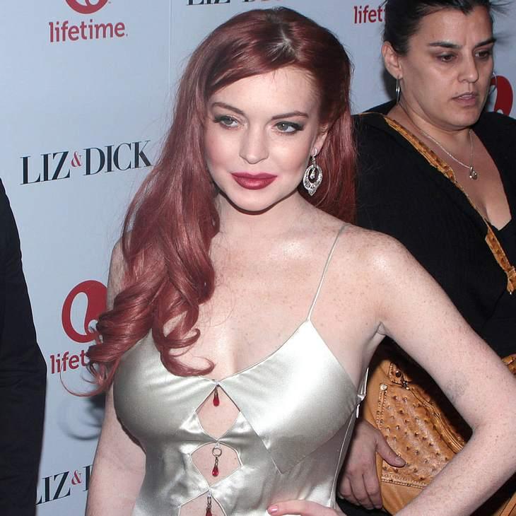 Lindsay Lohan lehnte Einladung von Liz Taylor ab