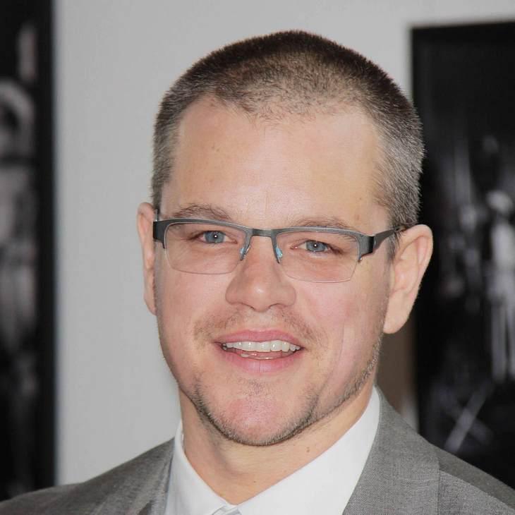 Matt Damon äußert sich zu Schwulen-Gerüchten
