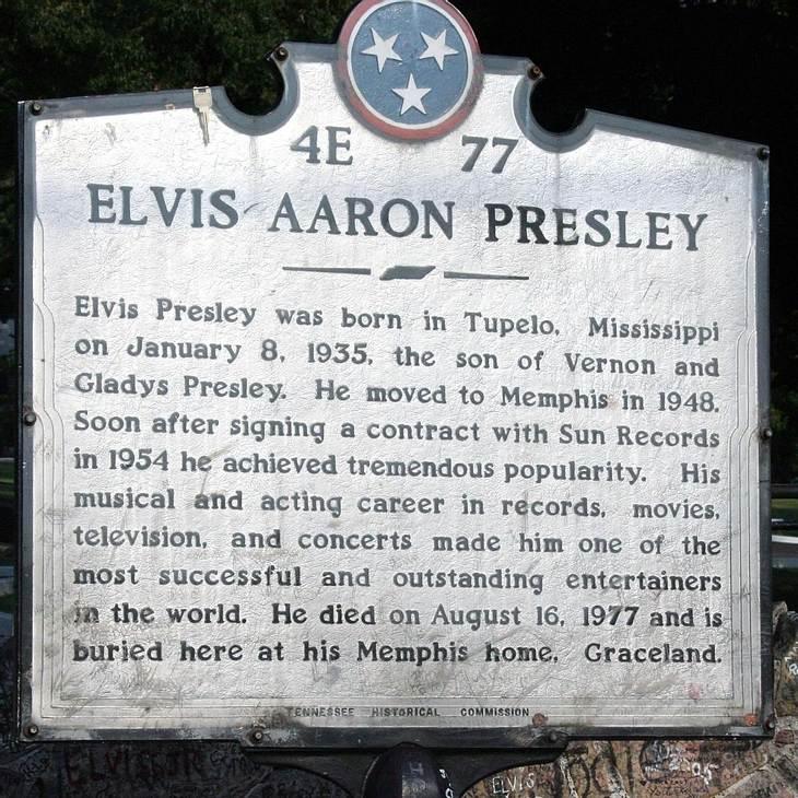 Elvis Presleys Grab wird versteigert