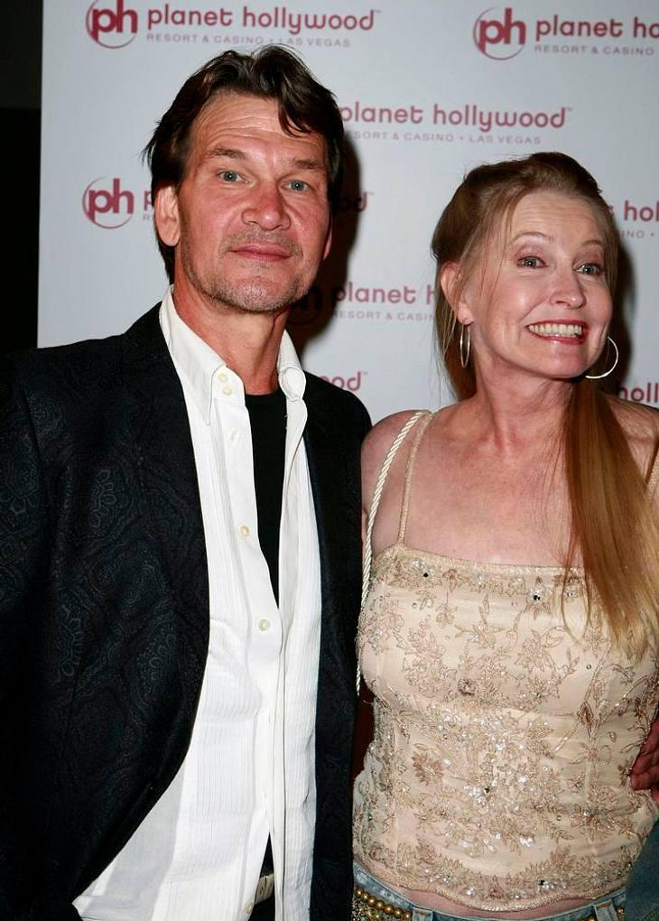 Vier Jahre nach dem Tode Patrick Swayzes hat seine Witwe Lisa Niemi neues Glück gefunden