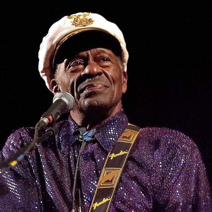Chuck Berry: Zusammenbruch bei Konzert