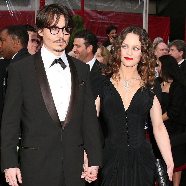 Johnny Depp: Standing Ovations für Vanessa Paradis