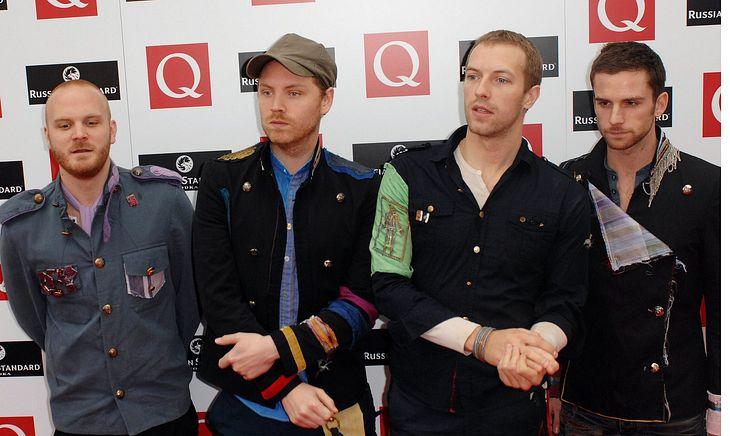Coldplay veranstalten Entrümpelungsverkauf