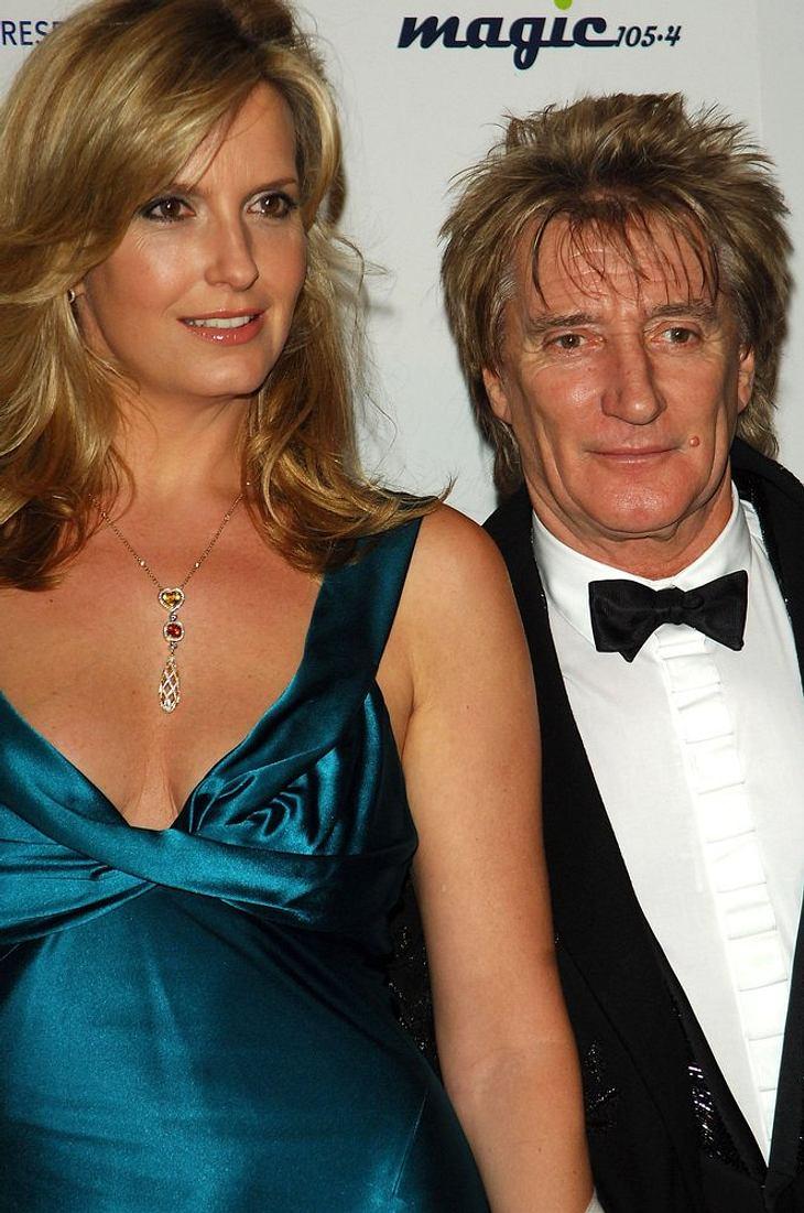 Rod Stewart & Penny Lancaster erwarten einen Sohn