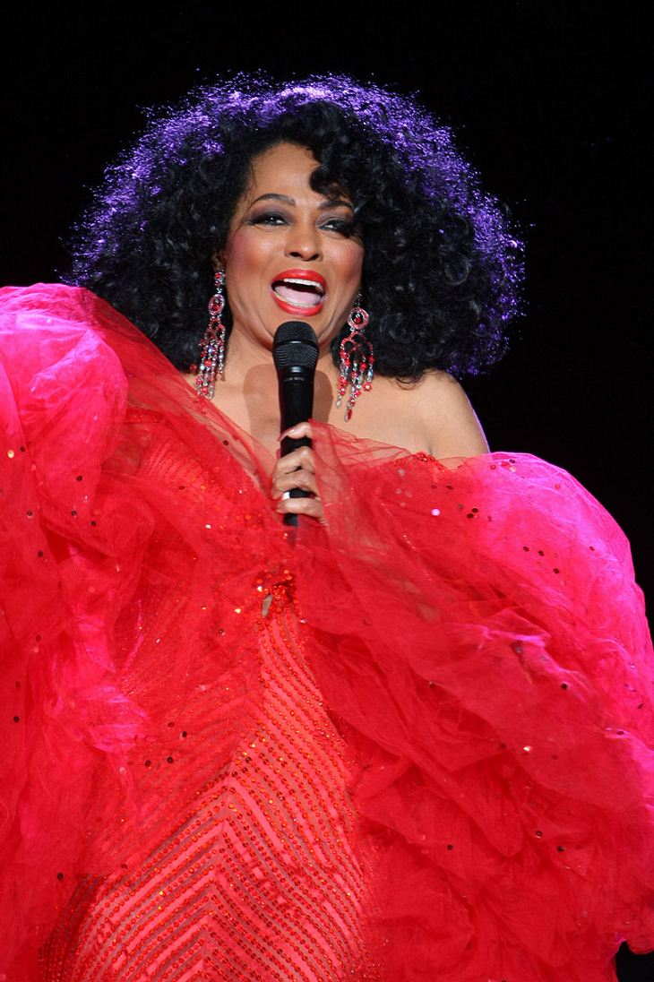 Diana Ross plant Sommer-Tour