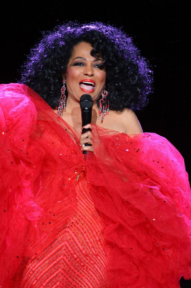 Diana Ross plant Sommer-Tour