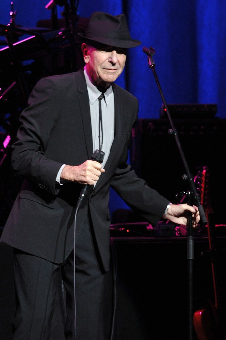 Leonard Cohen in Songwriters Hall Of Fame