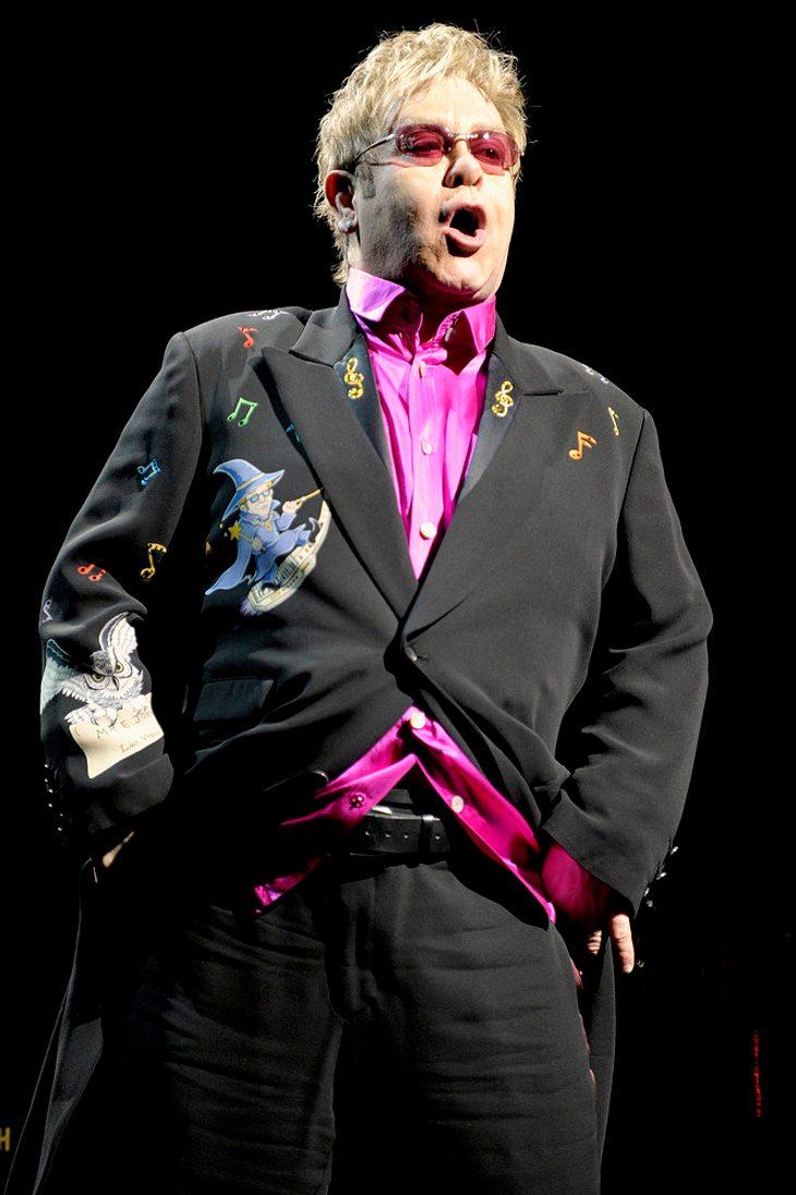 Elton John hofft auf baldige Krankenhaus-Entlassung