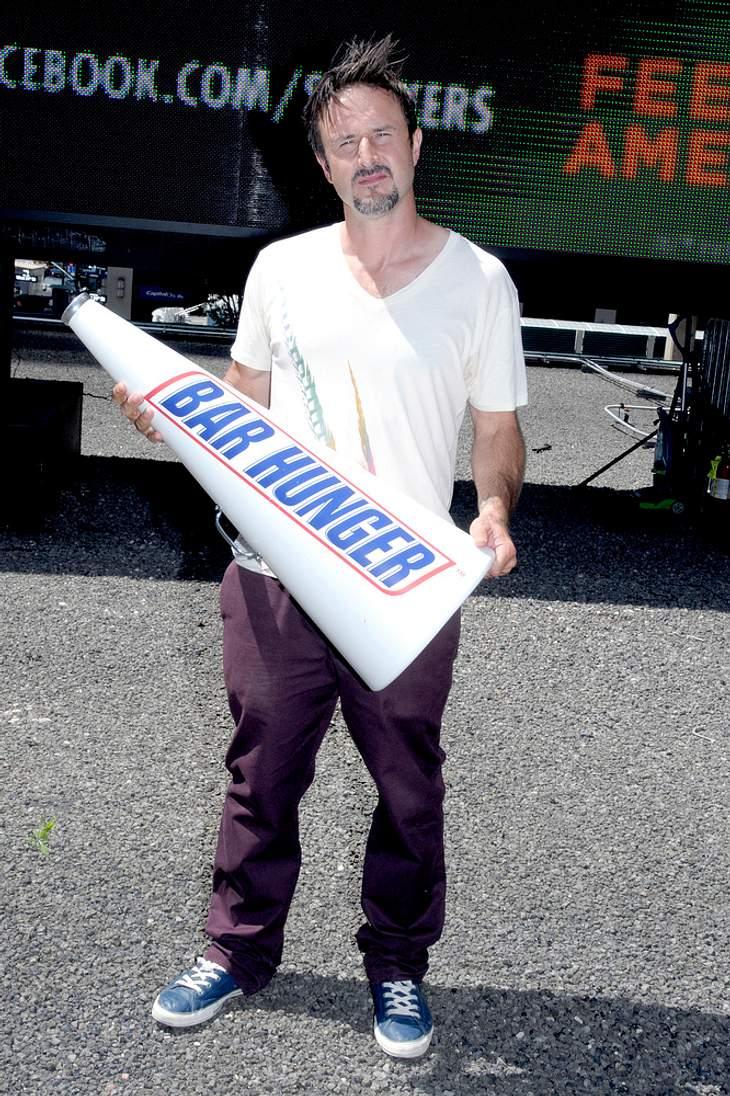 Arquette sammelt bei Cox Spenden gegen Hunger