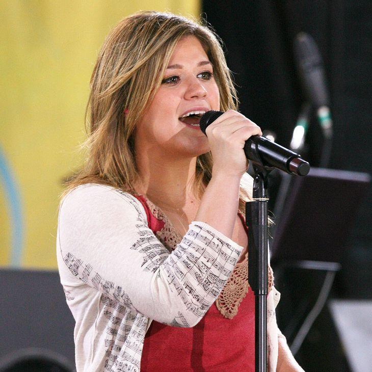Kelly Clarkson: Gedächtnisstütze beim Super Bowl