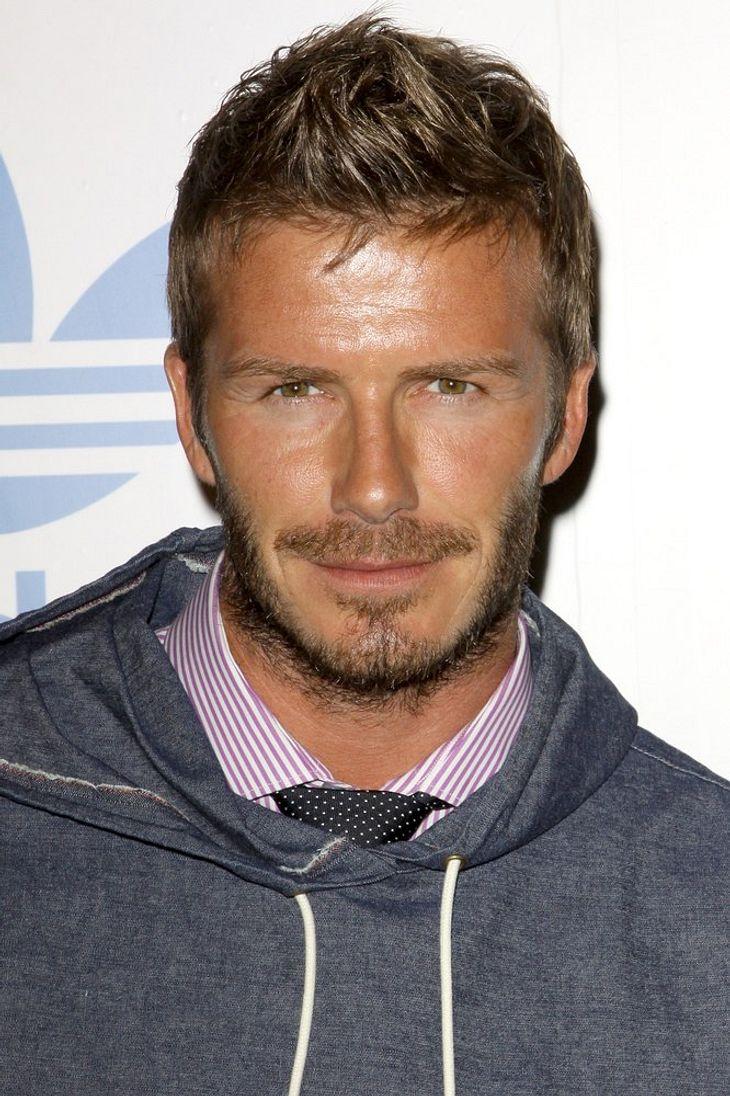 Beckham schneidet Talkshowmoderator die Haare