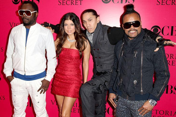 Black Eyed Peas verblüfft über Versehen bei Preisverleihung