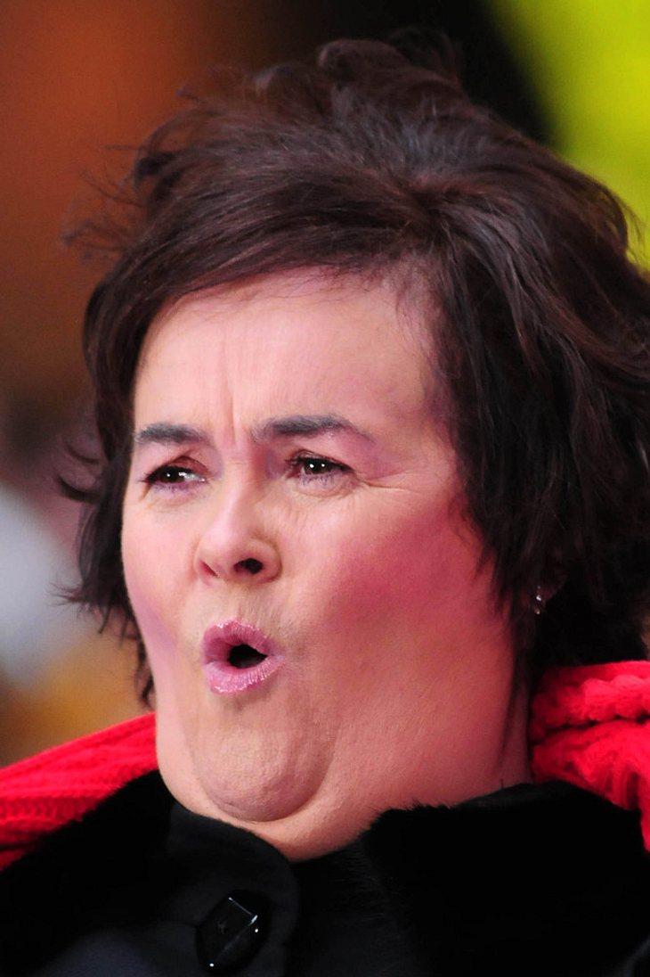 Susan Boyle überrascht Einbrecher