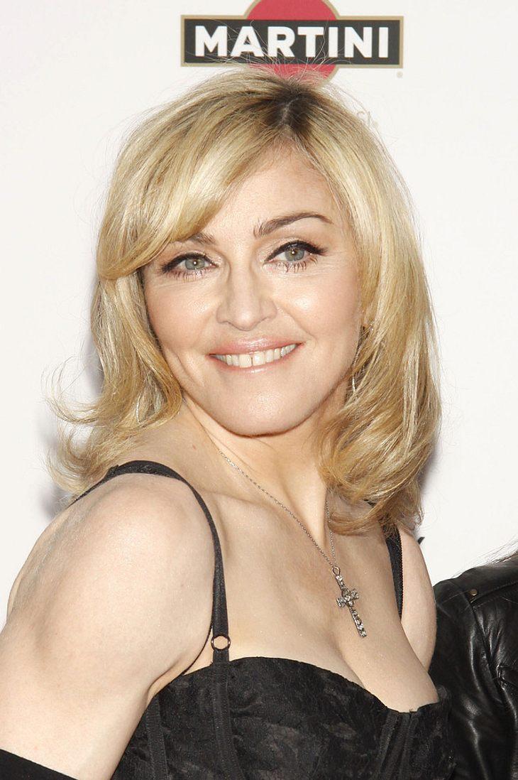 Madonna meistgespielte Künstlerin in UK