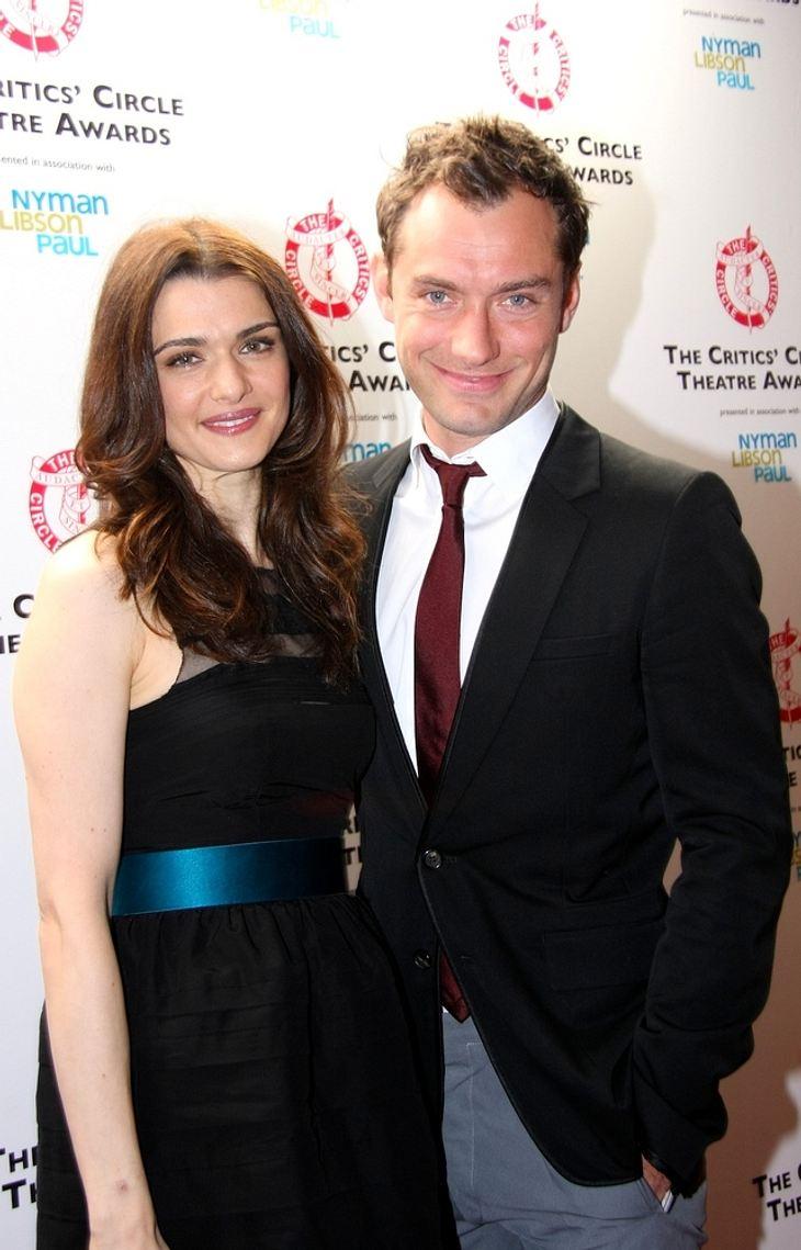 Theaterpreise für Rachel Weisz und Jude Law