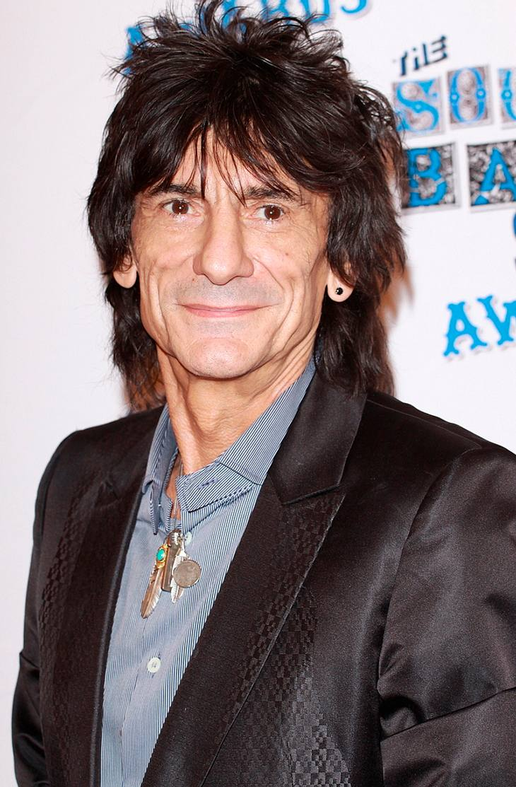 Ronnie Wood stellt seine Kunst in Ohio aus