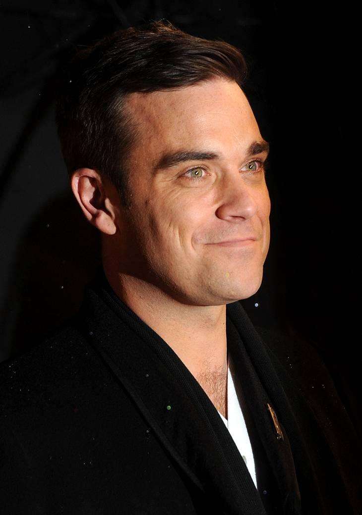 Robbie Williams ist unter der Haube und wird angeblich auch Papa