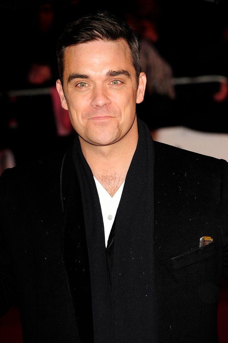 Robbie Williams am Samstag vorm Traualtar?
