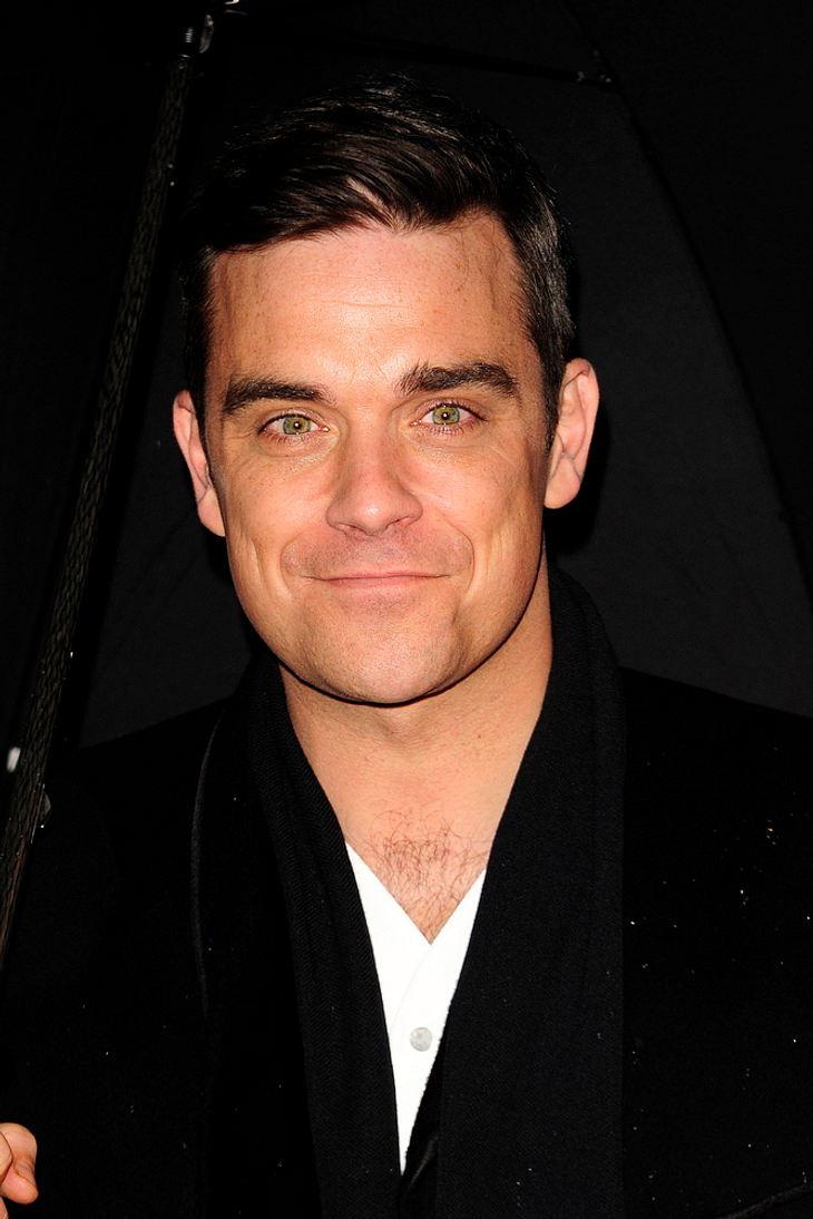 Robbie Williams gewinnt viele Stars für Soccer Aid-Match