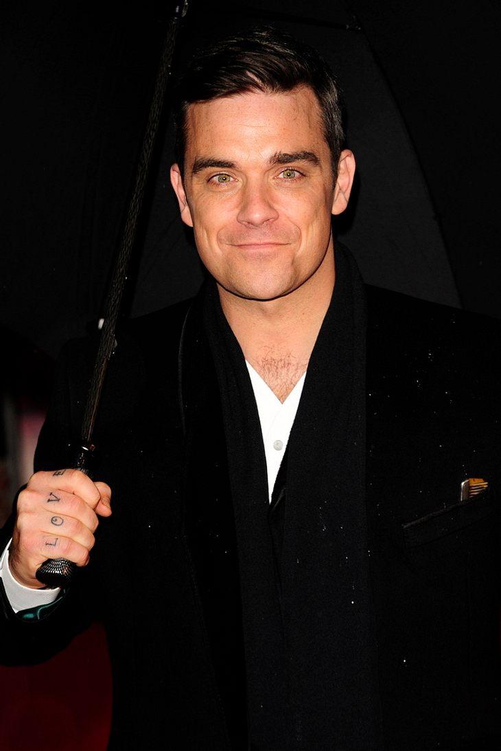Robbie Williams: Benefizshow für verletzte Soldaten