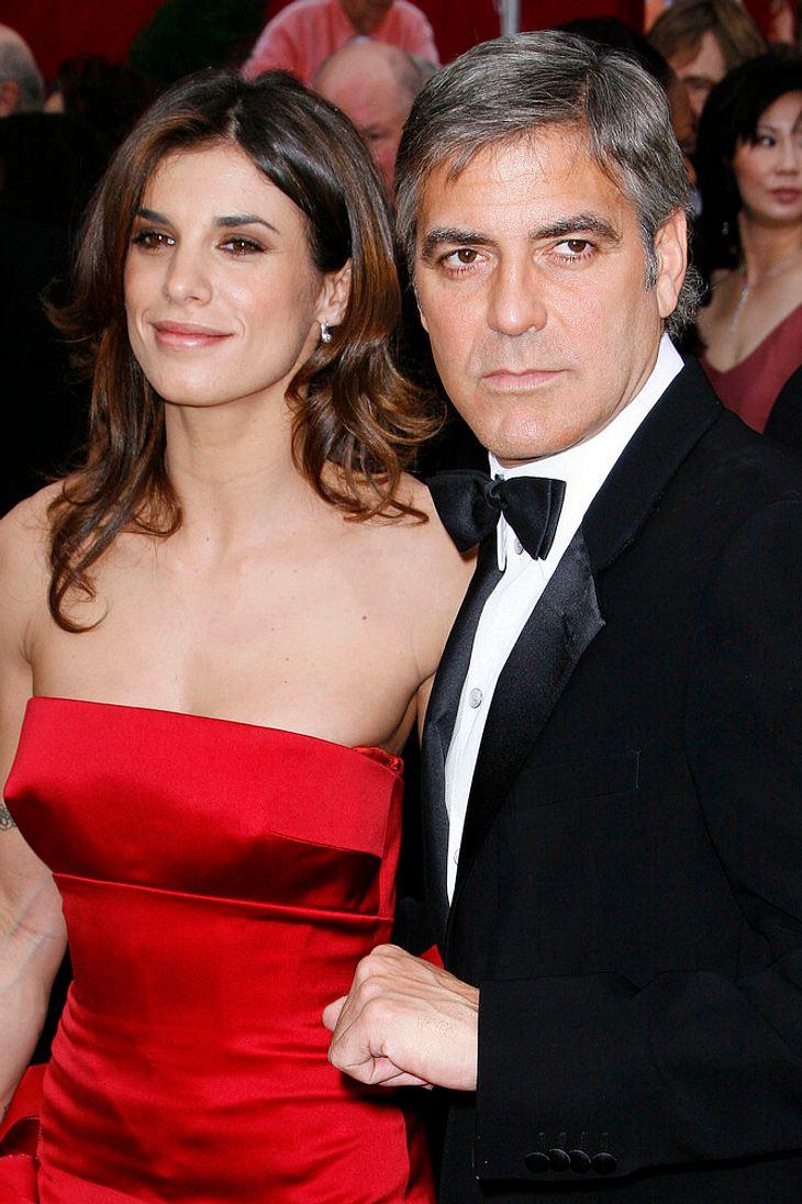 George Clooney und Elisabetta Canalis nicht verlobt