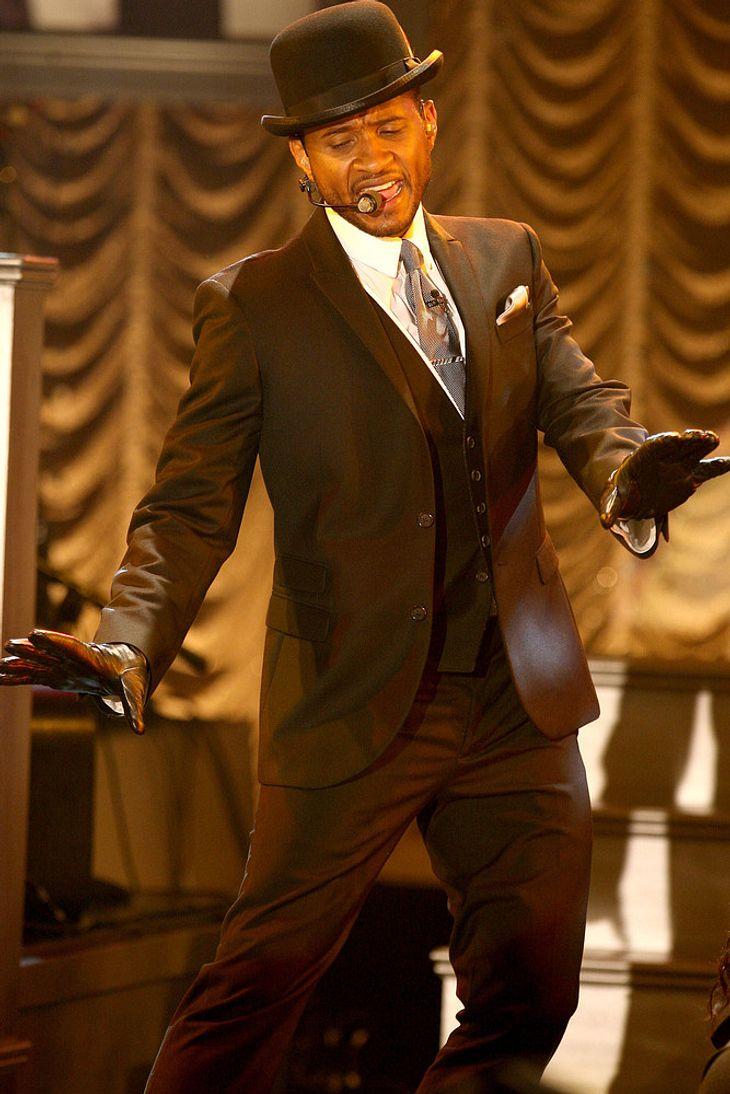 Usher begeistert New York mit Gratis-Show