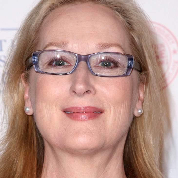 Meryl Streep: Geehrt Margaret Thatcher zu spielen