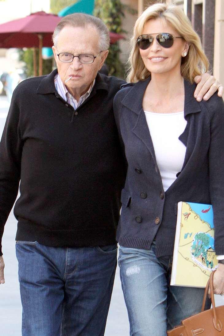Larry King sagt Scheidung ab