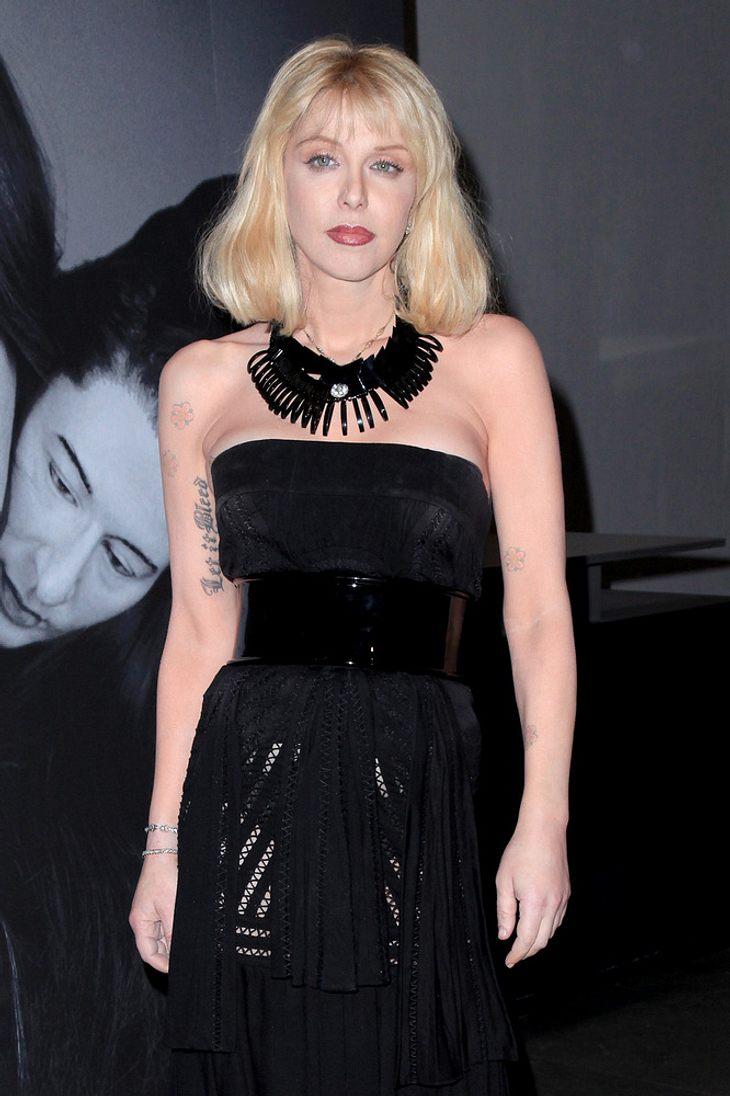 Courtney Love ist jetzt Mode-Bloggerin