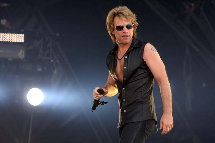 Bon Jovi rocken London von oben