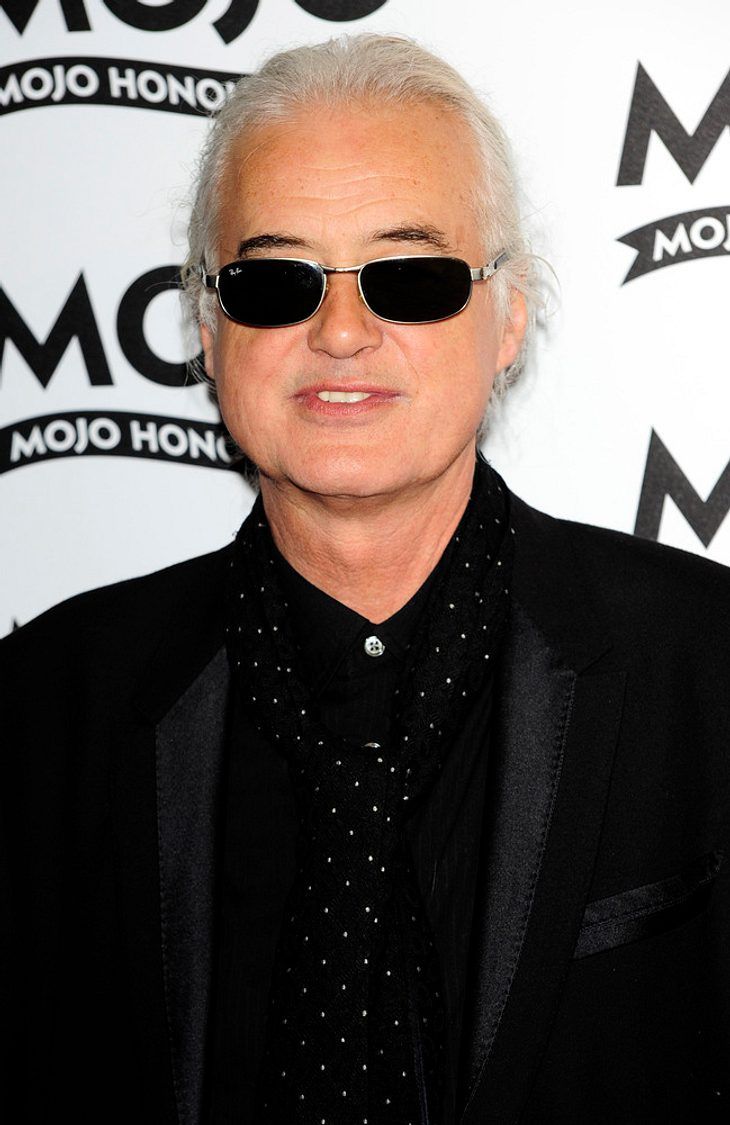Jimmy Page in Mojo Hall Of Fame aufgenommen